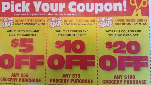 Harris Teeter coupons in ad