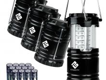 Etekcity 4 Pack Portable Outdoor LED Camping Lantern Set