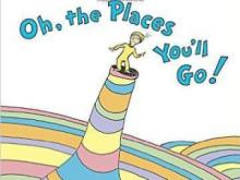 """Oh, The Places You'll Go!"" by Dr. Seuss"