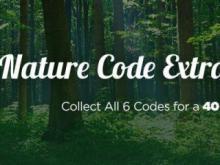 Swagbucks Nature Code Extravaganza