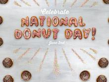Dunkin' Donuts National Donut Day