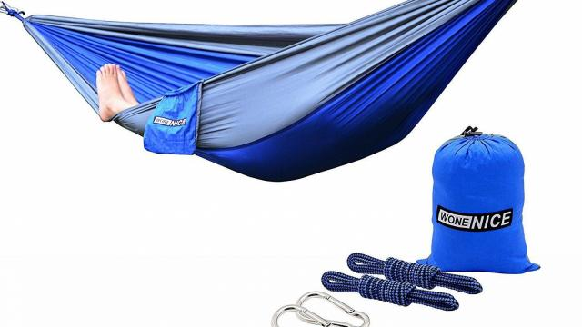 WoneNice Portable Lightweight Nylon Camping Hammock