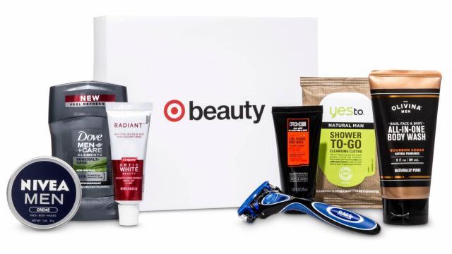 Target Men's Beauty Box