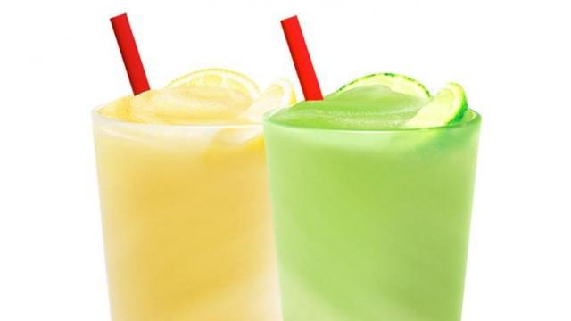 Sonic Frozen Lemonade and Frozen Limeade