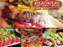 Ruckus Pizza menu items