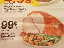 Kroger turkey breast sale