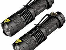 Rockbirds Tactical LED Flashlight 2 Pack