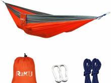 Raku Portable Lightweight Nylon Hammock