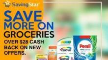 IMAGES: New Savingstar offers: Centrum, Persil, napkins