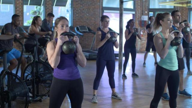 Heat Studio Fitness Class