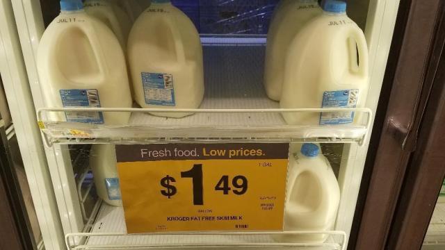 Kroger skim milk deal