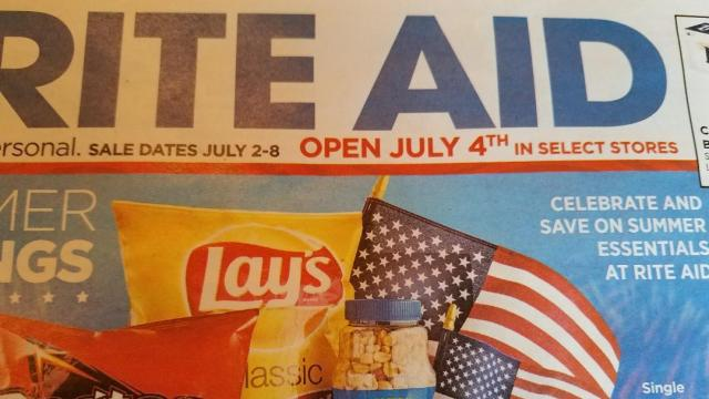 Rite Aid ad July 4th