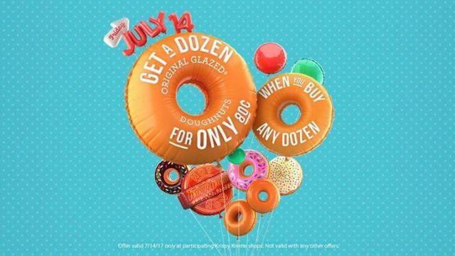 Krispy Kreme offer