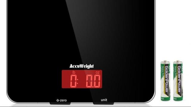 Accuweight LCD Digital Multifunction Food Scale