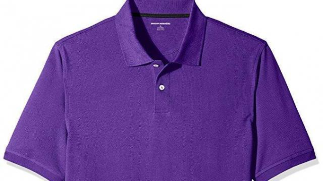 Amazon Essentials Men's Cotton Pique Polo Shirt