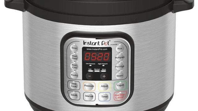 Instant Pot DUO80 7-in-1 Multi-Use Pressure Cooker
