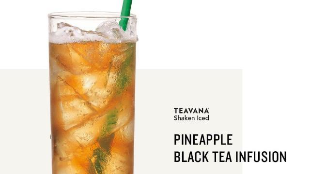 Starbucks Teavana Shaken Iced Tea Infusions