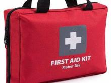 First Aid Kit with 200 pieces