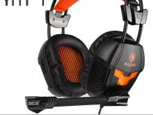 Sades Noise Canceling Isolating Headphones with Mic