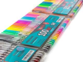 Crafty Clownfish 100 Piece Gel Pen Set