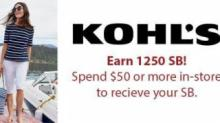 IMAGE: Kohl's deal: 25% back through Swagbucks
