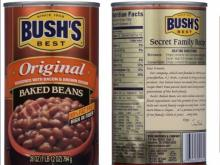 Bush's Beans Recalled Product