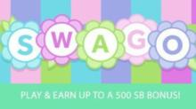 IMAGE: Play July Swagbucks SWAGO with 500 SB bonus