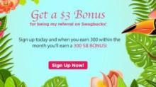 IMAGE: $3 Bonus when you join Swagbucks in August