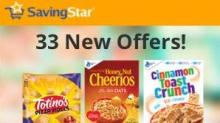 IMAGES: 33 New Savingstar offers: Peaches, Pillsbury, Old El Paso, cereal