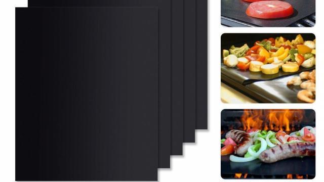 WINSEE BBQ Grill Mat Set of 5