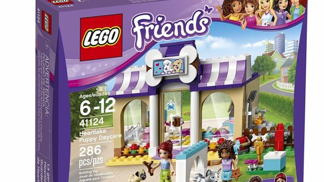LEGO Friends Heartlake Puppy Daycare Building Kit