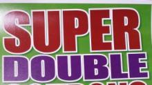 IMAGES: SUPER DOUBLES deals list 8/6 - 8/8