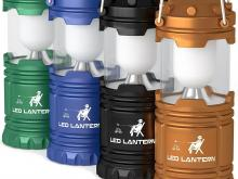 LED Camping Lanterns 4 Pack Set