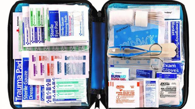 First Aid Kit with 299 Pieces