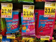 Sweet Tarts sale at Harris Teeter