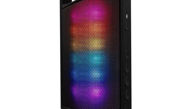 Portable Bluetooth Speaker Mini Stereo Speaker with  Led Lights