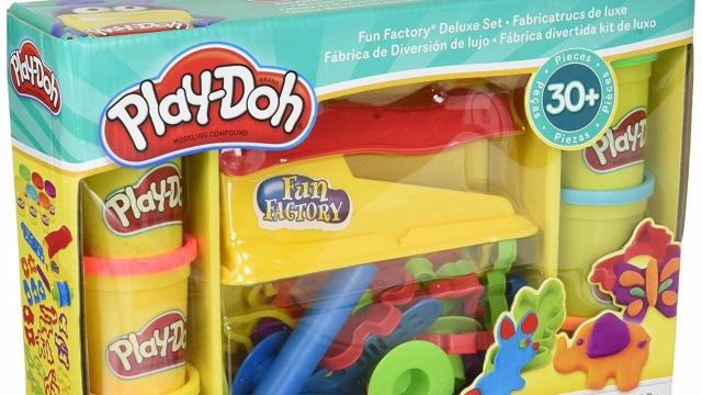 Play-Doh Fun Factory Deluxe Playset