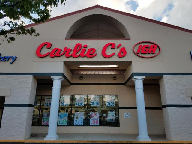 Carlie C's store front