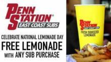 IMAGE: Penn Station Subs: Free Lemonade w/purchase Sunday