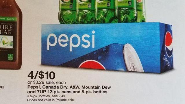 Target soda and water deals