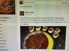 Harris Teeter cupcake sale