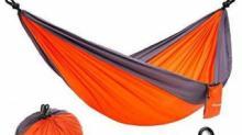 IMAGE: Lightweight Portable Nylon Hammock 80% off
