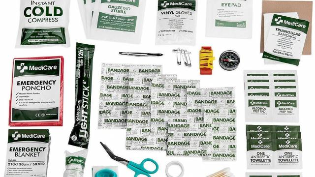 MediCare Deluxe First Aid Kit 115 Pieces