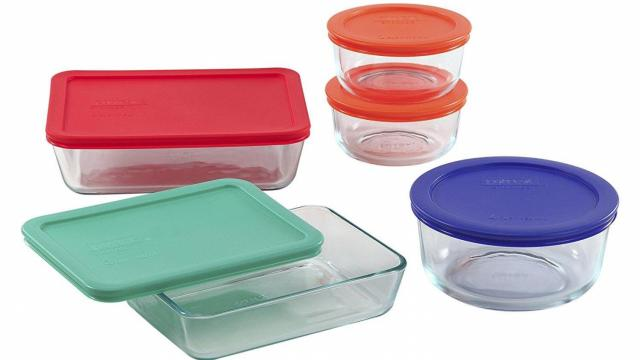 PYREX 10 Piece Glass Storage Set