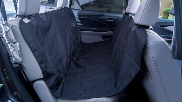 Deluxe Pet Seat Cover for Cars, Trucks and SUV's