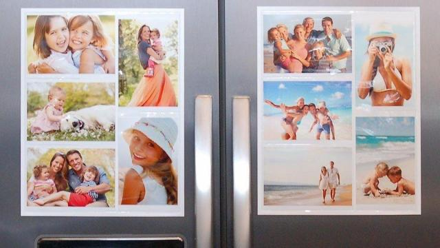 Magnetic Picture Collage Frame Set for Refrigerator