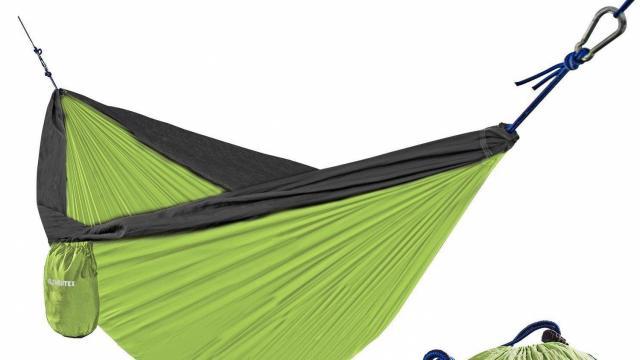 Lightweight Portable Parachute Hammock