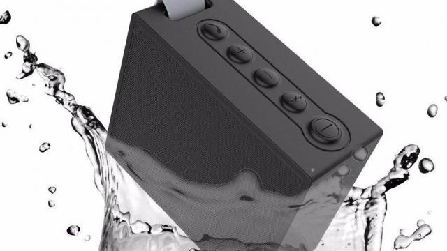 Elecder Portable Outdoor and Shower Bluetooth Speaker