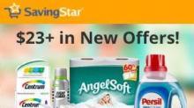 IMAGES: New Savingstar offers: Angel Soft, Advil, Renuzit