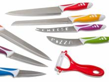 Den Haven Professional Stainless Steel Chef Knives 8 Piece Gift Set